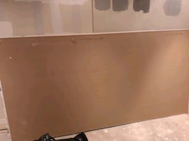 Free drywall! Ultralight fire drywall (1x8' sheet, 1x6' sheet)