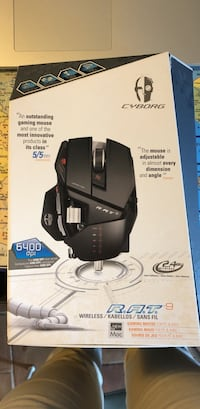 Mad Catz R.A.T.9 gaming mouse