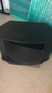 Black wooden TV Stand  Toronto, M9V 3E3