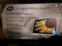 HP 22 All in One Touchscreen PC Washington, 20001