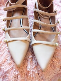 Zara Pearl Flat Shoes (Used) Markham