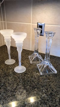 Candle Holders (2 sets) Bolton, L7E 1W7