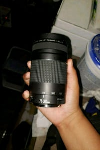 black Canon DSLR camera lens 70-300mm  Pittsburg, 94565