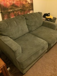 Grey suede loveseat Baltimore, 21215