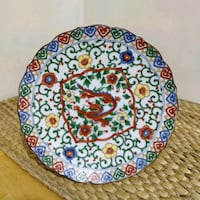 Handpainted Phoenix Collectible plate