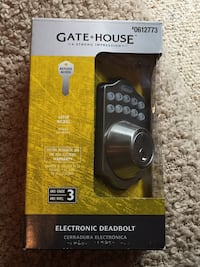 Brand new Gatehouse electronic deadbolt 42 km