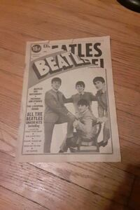 The Beatles Newspaper copyright 1964 Indianapolis, 46219