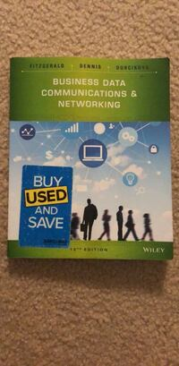 Used Business Data Communications & Networking Book 12th edition Broadlands, 20148
