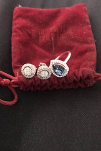 Ring and earing Jewelry set