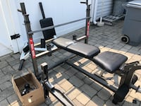 Heavy Duty Bench Press w/ preacher curl, dip attachment, lat pull down, and more Sicklerville, 08081