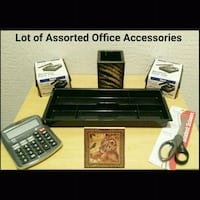 LOT OF ASSORTED OFFICE ACCESSORIES Ontario, 91762