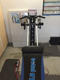 black and gray exercise equipment Victorville, 92395
