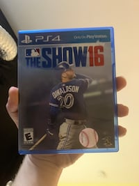 MLB The Show 2016 (PS4) Washington, 20016