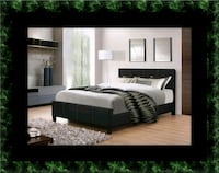 Full platform bed with box spring Brentwood