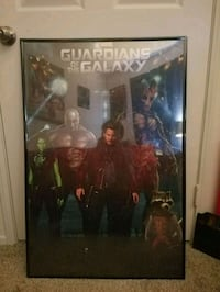 Guardians of the Galaxy poster Tustin, 92780