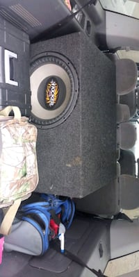 15 inch dvc 2ohm in ported box Hudson, 54016