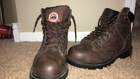 6 1/2 men's warn 2 times and good condition. Steel toe boots Omaha, 68135