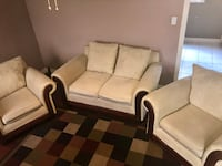 Need it gone ASAP !!! Comfortable sofa set  Markham, L3P 6S5