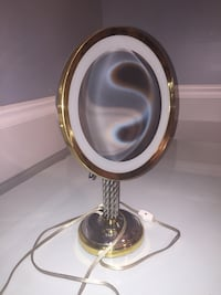Vanity light mirror antique