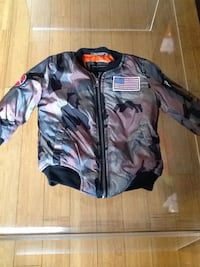 Toddler flight jacket 4t/camouflage