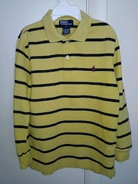 Polo by Ralph Lauren boys size 7 long sleeve 3 button shirt  Arlington, 22204
