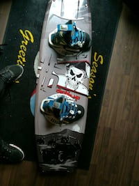 gray and black snowboard Edmonton, T6L 3M1