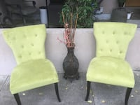 two green and brown wooden armchairs Napa, 94558
