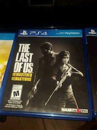 Sony PS4 The Last of Us Remastered game case Winnipeg, R2G 0V5