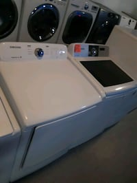 SAMSUNG TOP LOAD WASHER AND DRYER SET XL WORKING PERFECTLY  Baltimore, 21201