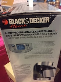 8cup programmable Black and Decker coffee maker Woodbridge, 22192