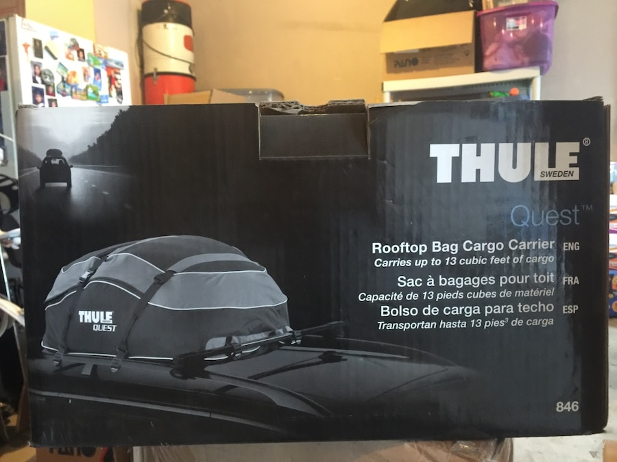 Thule Cargo Box For Sale Only 3 Left At 60