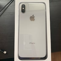 Iphone X silver 256 gb unlocked Arlington, 22204
