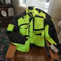 Brand new Xl Biltmore motorcycle jacket with liner FORESTGROVE