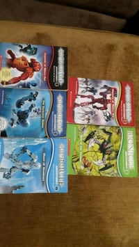 (5) Lego Bionicle Adventures Books by Scholastic  Rockledge, 32955