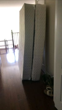 Twin mattress and box spring barely used... Make a Vaughan, L4H 3G5