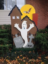 Ghost in the graveyard Halloween decor Kitchener, N2E 3P6