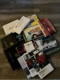 Original Vehicle Owner Manuals Lot Toronto, M6A 2T9