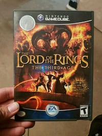 Lord if the rings gamecube game Oklahoma City, 73102