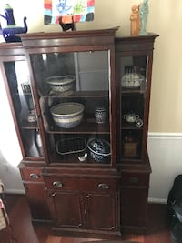 Antique China Cabinet Burke
