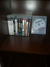 assorted Sony PS3 game cases Winnipeg, R2H 0R1