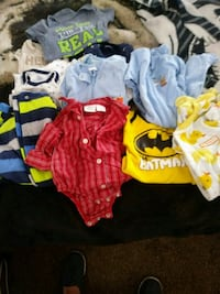 Box full of baby boy 0/3 month clothes Kent, 44240