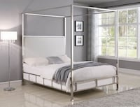 King Canopy Bed NEW Euclid