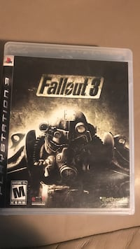 Fallout 4 PS3 game case