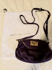 New Marc Jacob leather purple mini cross body TORONTO
