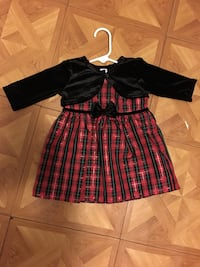 Baby girl Christmas dress Size 6-9 months  Corpus Christi, 78405