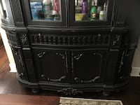 Black and brown wooden cabinet Dallas, 75208