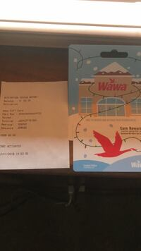 65$ Wawa gift card  Forest Hill, 21050