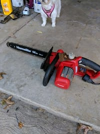 """14"""" electric chainsaw Strongsville"""