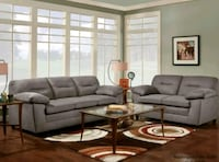 black leather sectional sofa with coffee table Las Vegas, 89147