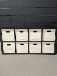 Black box shelves (3) sold separately but will negotiate price for mul